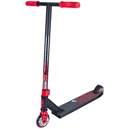 Madd Gear Madd Kick Extreme Black / Red Scooter Complete