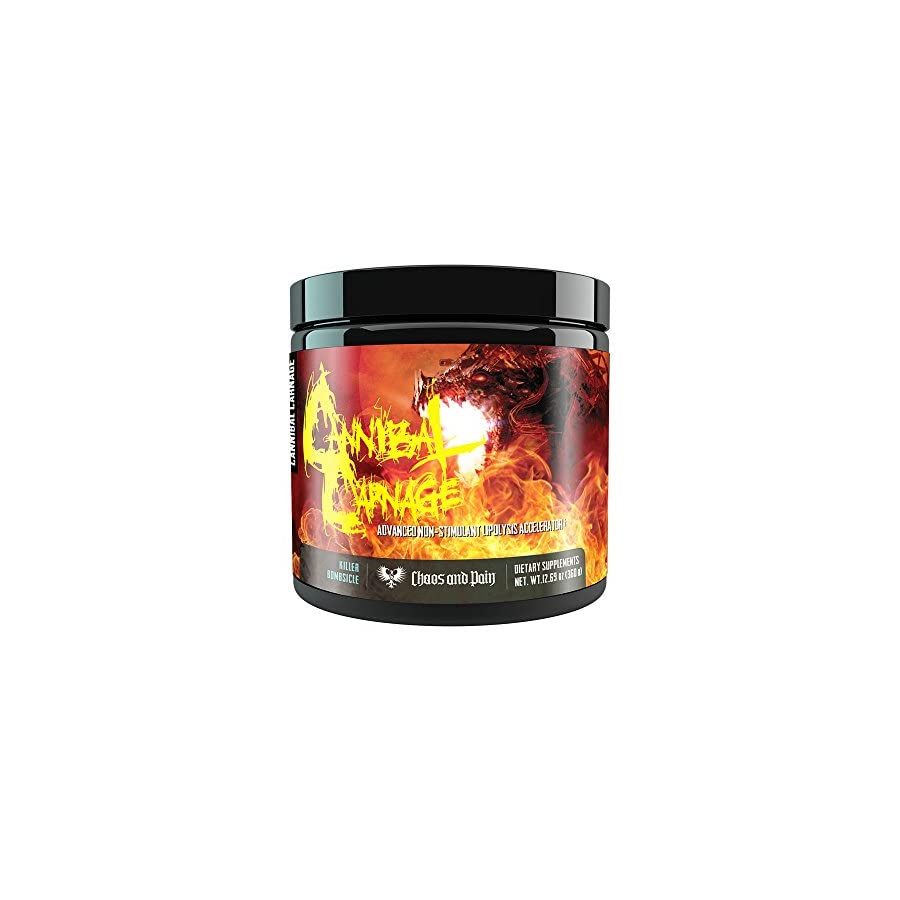 Cannibal Carnage (Killer Bombsicle) By Chaos and Pain Advanced Non Stimulant Lipolysis Accelerator
