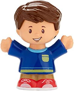 Fisher-Price Replacement Jack Figure Little People Big Helpers Home FHF34 - Includes Blue Red Boy Figure