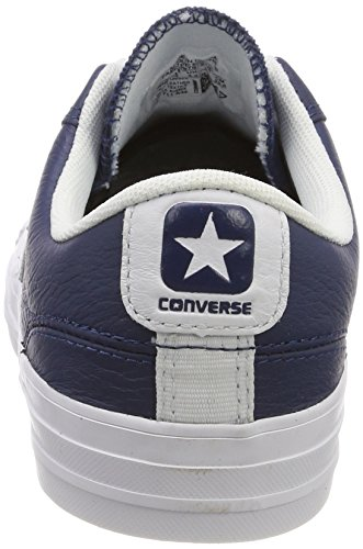 Adulte White White Navy White Bleu Ox Player Baskets Converse Mixte Navy 410 Star wx0qvI