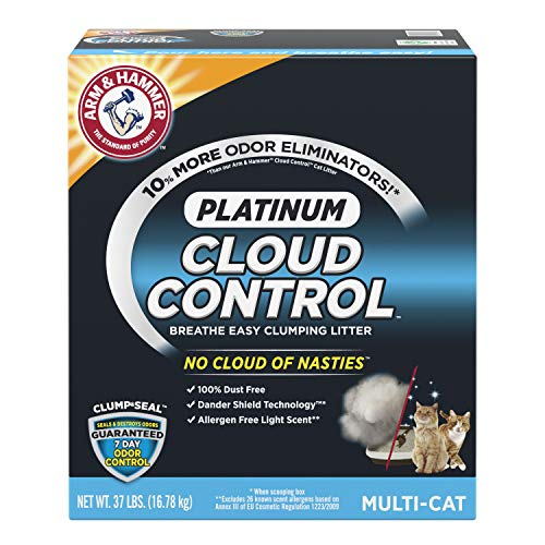 Best arm and hammer cat litter unscented list
