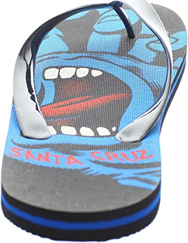 Santa Cruz Mens Sandal ~ Screaming Hand5 Black Q939P