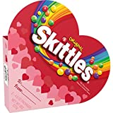 SKITTLES Original Valentine's Candy Heart Box 8-Ounce