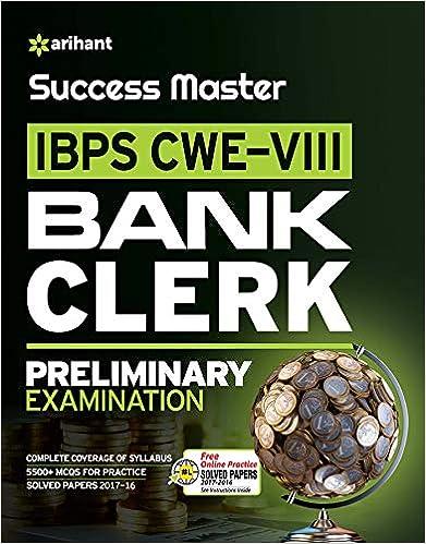 Success Master IBPS-VII Bank Clerk Preliminary Examination 2018 - byArihant Experts