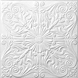 "Foam Decorative Ceiling Tile - Astana 50cm x 50cm (~20""x20"")"