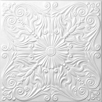 foam decorative ceiling tile astana 50cm x 50cm 20quot - Decorative Ceiling Tiles