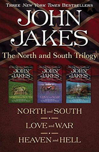 The North and South Trilogy: North and South, Love and War, and Heaven and Hell cover