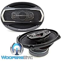 PIONEER TS-A6995S 6x9 600W 5-WAY COAXIAL CAR AUDIO STEREO AMPLIFIER SPEAKERS