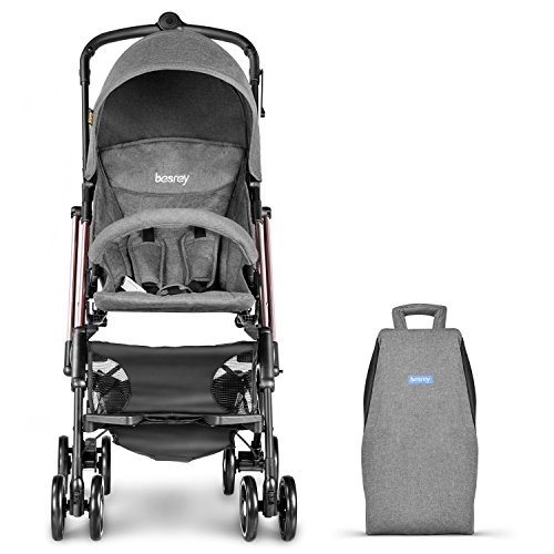Besrey Airplane Stroller One Step Design For Opening