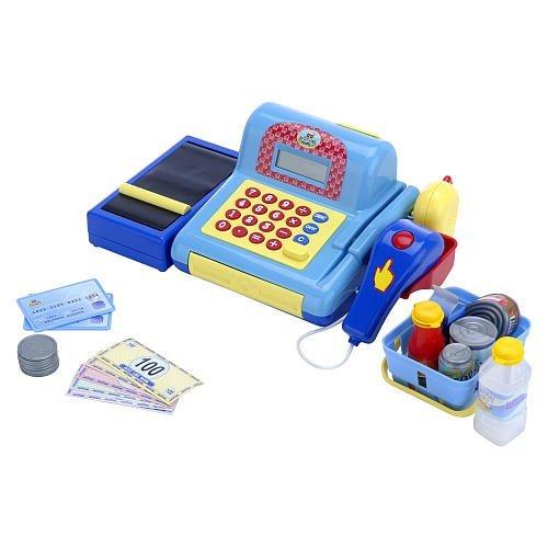E-Toysworld Just Like Home Cash Register - Blue