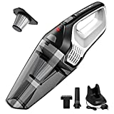 Homasy Portable Handheld Vacuum Cleaner, 6KPA Powerful Cyclonic...