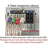 Amazon.com: 6 Speaker Wires/Cables/Cords for Select ... on