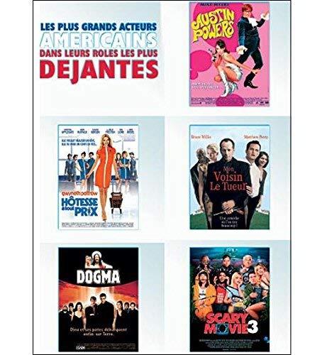 Coffret comédies déjantées : austin powers ; hôtesse à tout prix ; mon voisin le tueur ; dogma ; scary movie Francia DVD: Amazon.es: Cine y Series TV