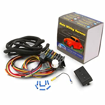 51LplDUdqZL._SY355_ amazon com keep it clean 191631 12 fuse wire harness system keep it clean wiring harness diagram at readyjetset.co