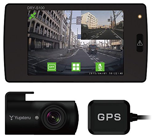 쥬비터 GPS・G센서 탑재 전후 녹화 대응 드라이브 레코더 DRY-S100c