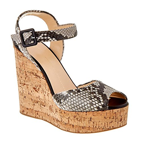 Toe Da Heel Sandali yc fibbie Office amp; L Donna A Carriera Peep Cozy Wedge dqY8EwEx5