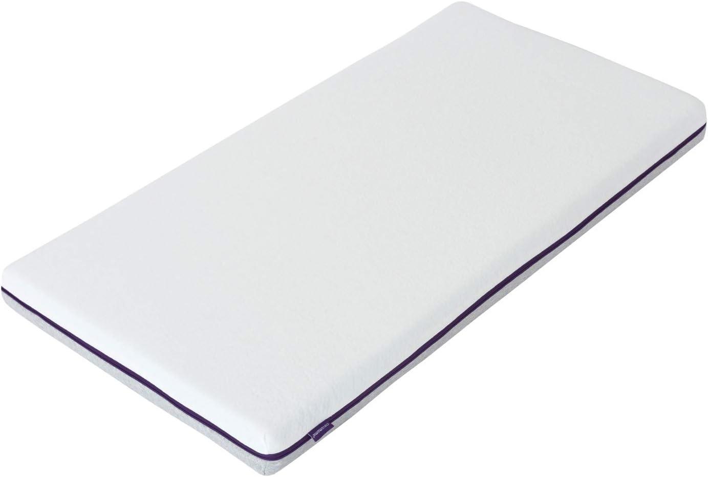 Clevamama 3117 - Colchón cunas bebés gel frio 60x120 cm