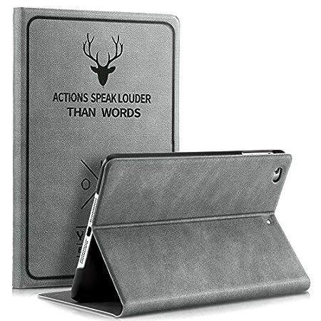 ProElite Smart Deer Flip case Cover for Apple iPad Mini 4 / Mini 5  7.9 inch   Grey  Bags,Cases   Sleeves