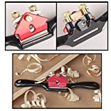 "3PCS Carpentry Tools,Adjustable 9""SpokeShave with"