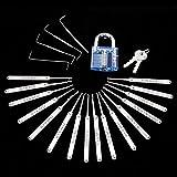 Tools & Hardware : SIX BOX Practice ebook Tools with Transparent Lock19 PCS