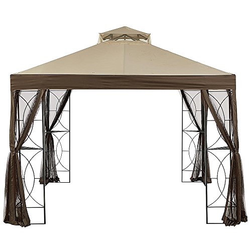 Garden Winds Callaway Gazebo Replacement Canopy - RipLock 350