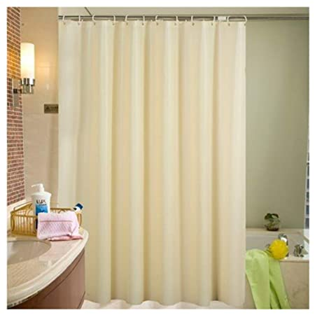 LikeYou 60 Inch By 78 Shower Curtain Liner Mlidew Resistant Eco Friendly PEVA Bath