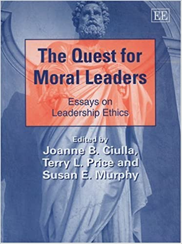 Written Essay Papers The Quest For Moral Leaders Essays On Leadership Ethics New Horizons In  Leadership Studies Series Healthy Food Essay also Argumentative Essay Thesis Statement The Quest For Moral Leaders Essays On Leadership Ethics New  Business Strategy Essay