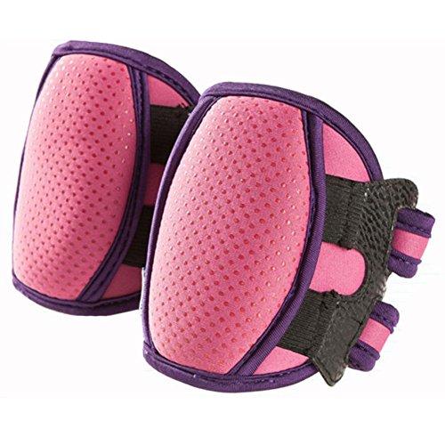 1 Pair Pink Anti-skid Elbow Pads Leg Warmer Toddler Knee Pro