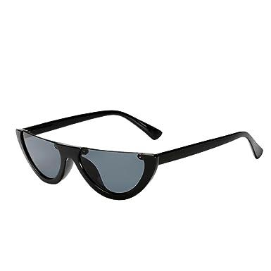 🍒 LuckyGirls Femmes Vintage Lunettes de Soleil Rétro Sunglasses Oeil de  Chat Petit Cadre UV400 Lunettes Mode Dames Wayfarer Clubmaster Aviator Lunettes  de ... ae9b06f9eda6