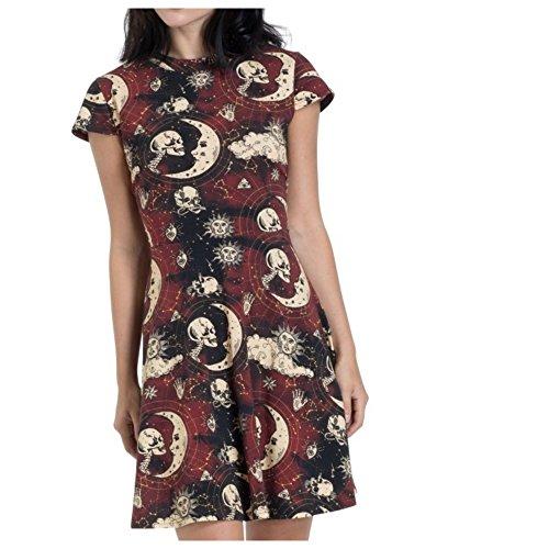 Kleid Damen Kleid Damen mehrfarbig Skater Jawbreaker mehrfarbig Jawbreaker Skater gtnqHx0a