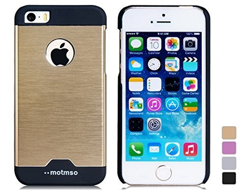 new styles f7320 a4c73 Motmso Plastic Cooling Case for iPhone 5/5S (Golden): Amazon.co.uk ...