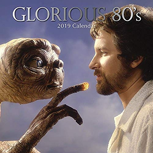 Glorious 80s Calendar Including Dirty Dancing, E.T, Top Gun, 12 x 12 Inch Monthly View, 16-Month, Vintage Photos Theme, Includes 180 Reminder Stickers ()