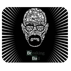 Breaking Bad TV Show Personalized Custom Gaming Mousepad Rectangle Mouse Mat / Pad Office Accessory And Gift Design-LL1183 by mcsharks
