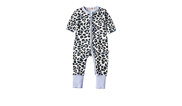 Tortor 1Bacha Baby 1 Piece Long Sleeve Cotton Romper Pajama Clothes