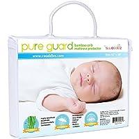 Waterproof Crib Mattress Cover - Ultra Soft, Dryer Friendly, Bamboo, Crib Mat...