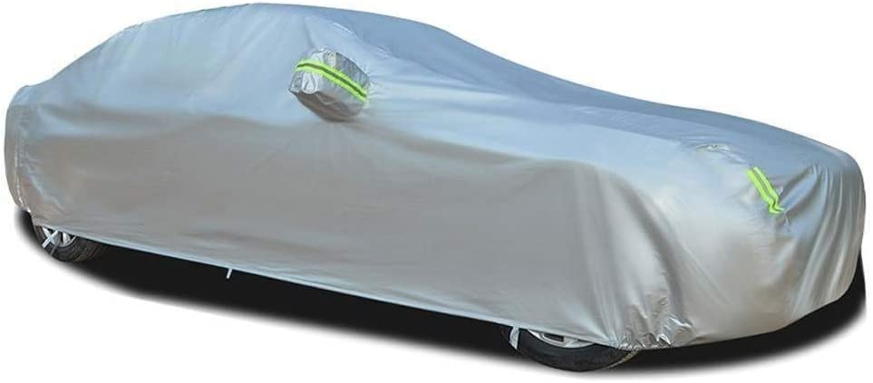 Color, Silver ,Silver Car Cover Car Cover Car Cover Full Exterior Covers Waterproof Sun Protection Breathable Cover Dustproof Guard Outdoor Protection Compatible with Aston Martin DB11 Car Cover