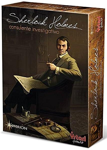 Asterion 8550 - Sherlock Holmes Investigative Consultor, edición Italiana: Amazon.es: Juguetes y juegos
