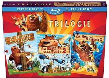 Les Rebelles De La Forêt Trilogie Blu Ray Amazon Co Uk