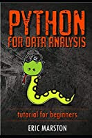 Python for data analysis: Tutorial for beginners Front Cover