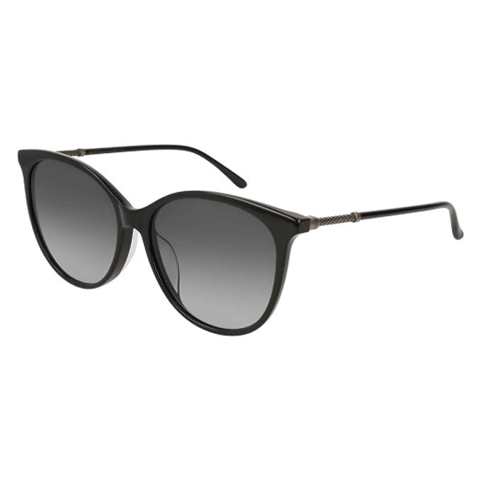 Amazon.com: anteojos de sol Bottega Veneta BV 0154 SK- 001 ...