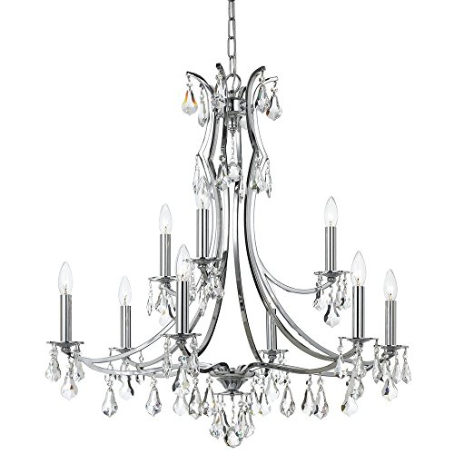 crystorama-5939-ch-cl-s-six-light-chandelier-4906-cm-crystal-accents-from-athena-collection-in-light