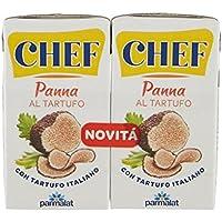 Parmalat Chef - Crema de Cocina Italiana con trufa (2 x 125 g), Pasta