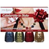 China Glaze Nail Polish Celebrate in Style 4pc Gift Set (25163/25170/25171/25172)