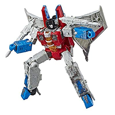 """Transformers Toys Generations War for Cybertron Voyager Wfc-S24 Starscream Action Figure - Siege Chapter - Adults & Kids Ages 8 & Up, 7"""""""