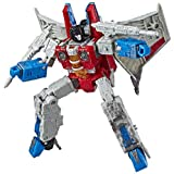 Transformers Toys Generations War for Cybertron Voyager Wfc-S24 Starscream Action Figure - Siege Chapter - Adults & Kids Ages 8 & Up, 7""