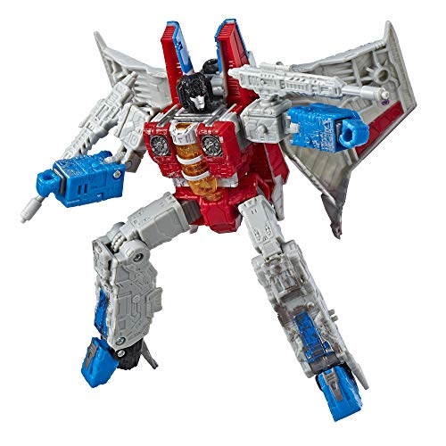 Transformers Toys Generations War for Cybertron Voyager Wfc-S24 Starscream Action Figure - Siege Chapter - Adults & Kids Ages 8 & Up, 7