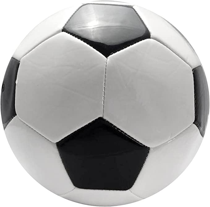 SGerste Balón de fútbol de alta calidad, clásico, color blanco y ...