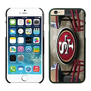 San Francisco 49ers iPhone 6 Plus NFL Cases 42 Black 5.5 Inches NIC13821