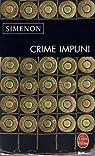 Crime impuni par Simenon