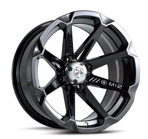 Black Atv Wheel - 8